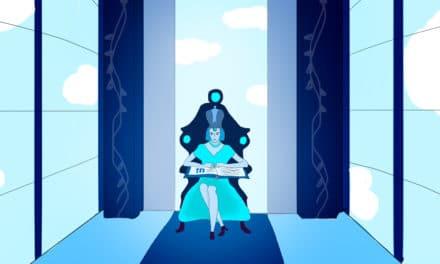 Der Welten-Hüpfer und der blaue Glaspalast der Königin