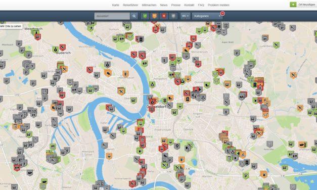 """Die """"Wheelmap"""": Eine App erleichtert den Alltag"""