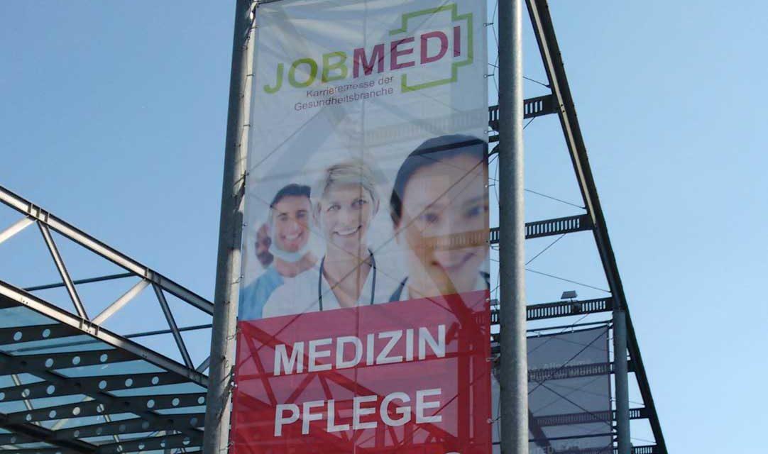 """Viele neue Kontakte auf der Jobmedi <span class=""""caps"""">NRW</span> am 20.04.2018 in Bochum"""
