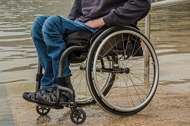 Mobilitätstraining für Rollstuhlfahrer
