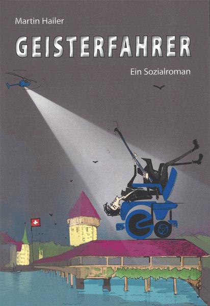 """Taschenbuch-Vorstellung: """"Geisterfahrer"""" von Martin Hailer"""